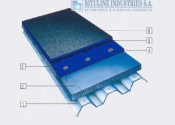 Waterproofing of metal deck